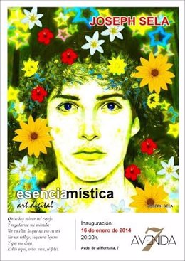 Cartel De La Exposición 'Esencia Mística' Que Se Puede Ver En Cáceres