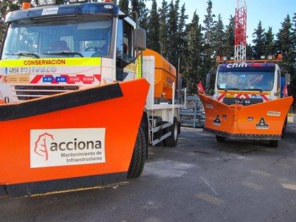 El uso de cadenas es necesario en siete carreteras de Huesca