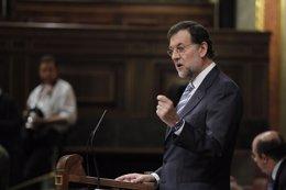 Mariano Rajoy (PP) en el Congreso