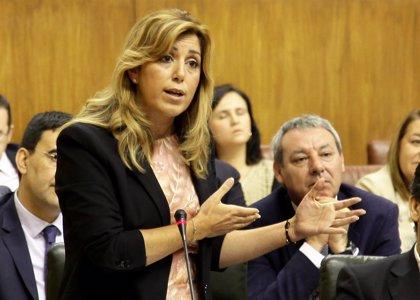 Díaz comparece en Pleno extraordinario para analizar la situación de la comunidad