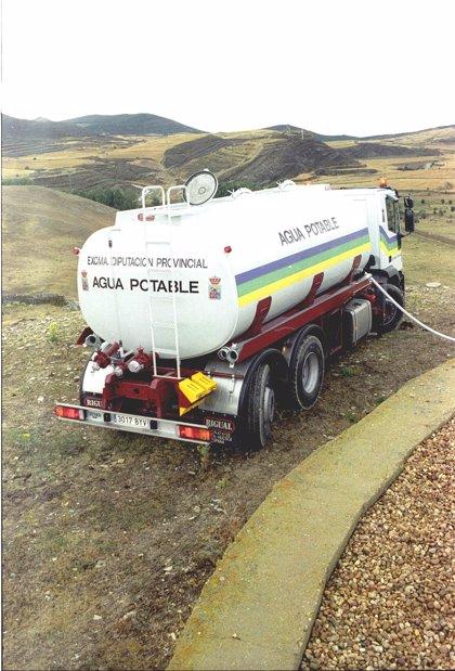 La Diputación de Soria suministró en 2013 más de 2.871.000 litros de agua a una veintena de localidades