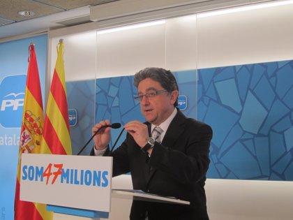 """Millo (PP) insta a Mas a dialogar sobre aspectos """"posibles"""" como la financiación"""