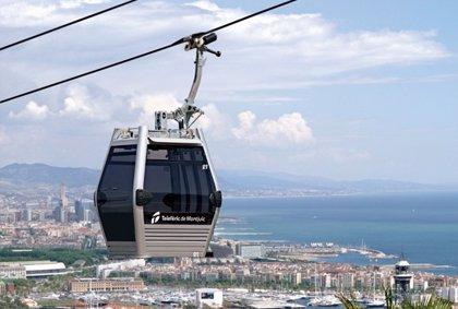 El teleférico de Montjuïc cierra seis semanas por revisión