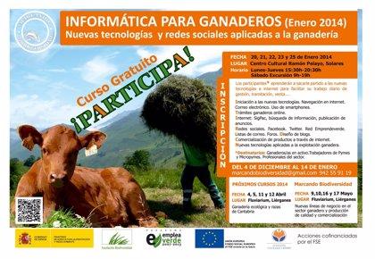 La FNYH imparte desde hoy un curso de nuevas tecnologías aplicadas a la ganadería en Solares
