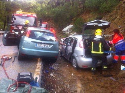 El 061 atendió a 81 personas por 56 accidentes de tráfico registrados el fin de semana en Galicia, de las que una murió