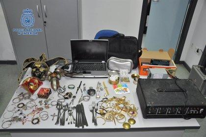 Tres detenidos como autores de varios robos en Candeleda