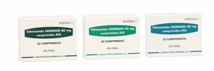 Normon lanza 'Telmisartán' para el tratamiento de la hipertensión en adultos
