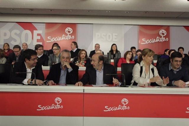 Comité Federal del PSOE // Líderes del partido