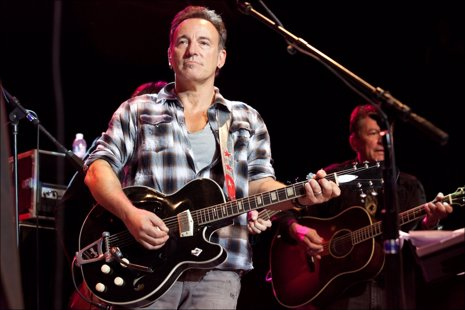 Bruce Springsteen sigue trabajando en Wrecking Ball