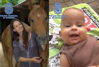 La Policía pide colaboración para encontrar a una mujer huida de Suiza y a su hijo, que necesita tratamiento urgente