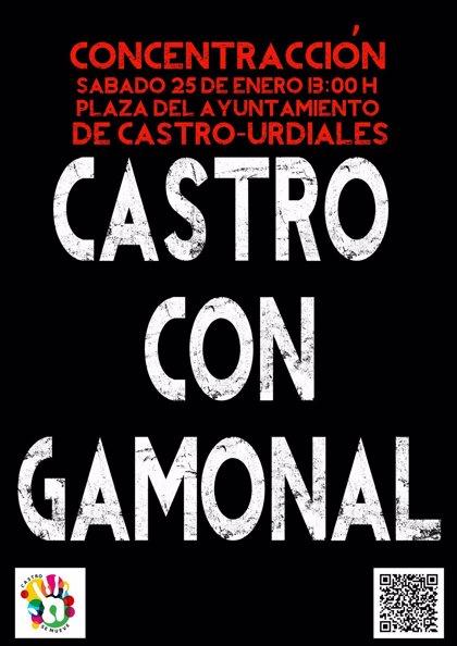 CANTABRIA.-Castro Urdiales.- Colectivos Castro Se Mueve convocan el sábado una concentración de apoyo a Gamonal