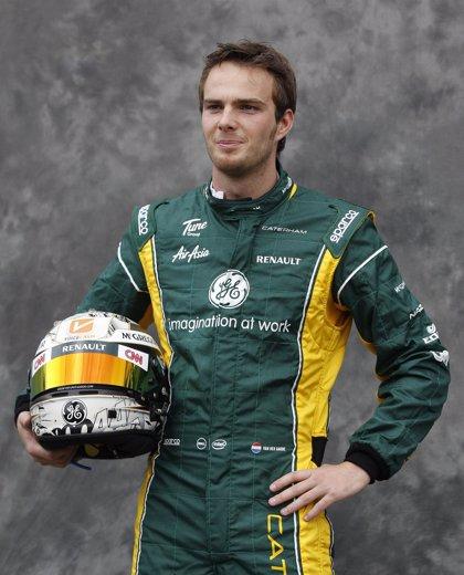 Sauber ficha a Van der Garde como piloto reserva