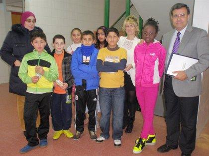 Fundación Caja Rioja financia un programa de apoyo escolar para alumnos de Educación Primaria del CEIP San Francisco