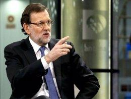 Mariano Rajoy, entrevistado en Antena 3