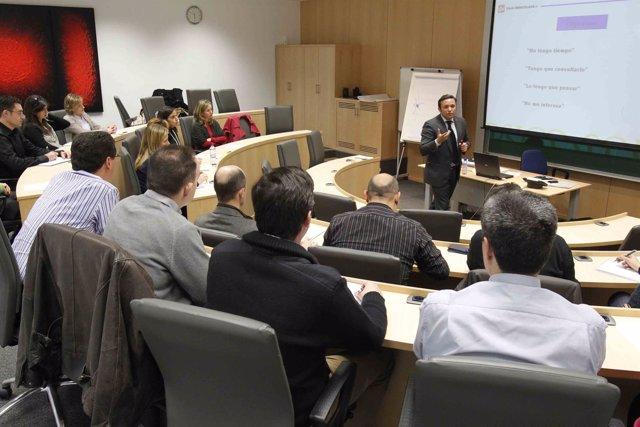 Participantes en uno de los cursos