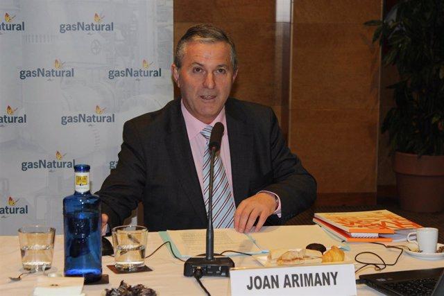 El delegado de Gas Natural en Girona, Joan Arimany
