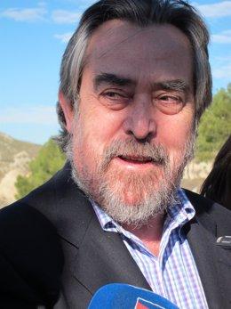 El alcalde de Zaragoza, Juan Alberto Belloch