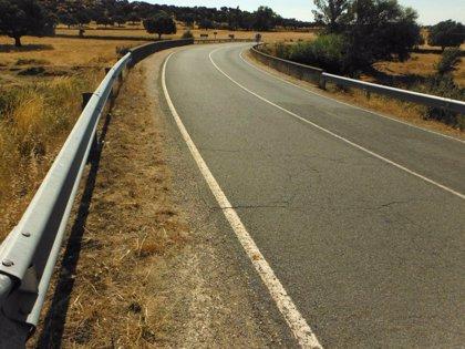 AMM denuncia ante el fiscal delegado en Seguridad Vial de Salamanca una barrera de seguridad inacabada en la SA-311