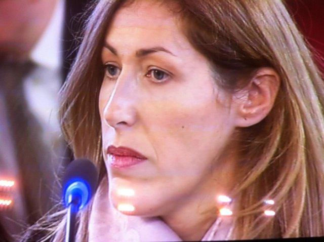 Maribel Castillo en su declaración en el 'caso Cooperación'