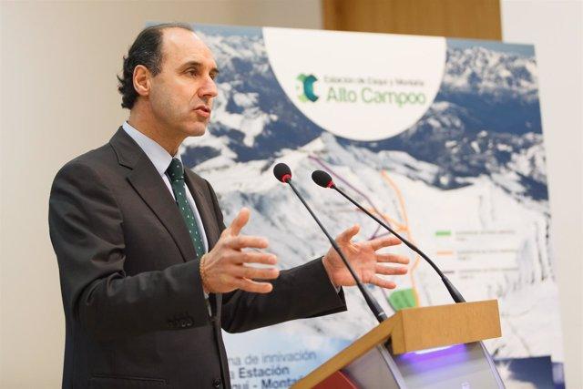 El presidente cántabro, Ignacio Diego.