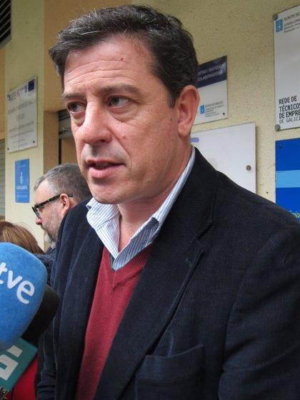 """Besteiro rechaza reformar la ley electoral sin consenso y pide que Feijóo actúe """"como presidente de todos los gallegos"""""""