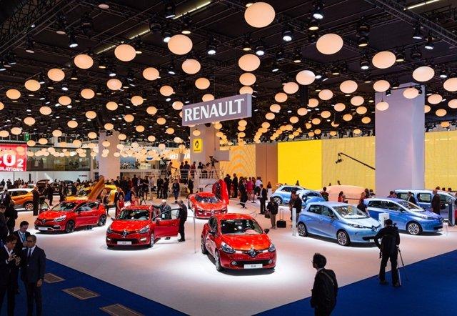 Stand de Renault en el Salón de Frankfurt 2013