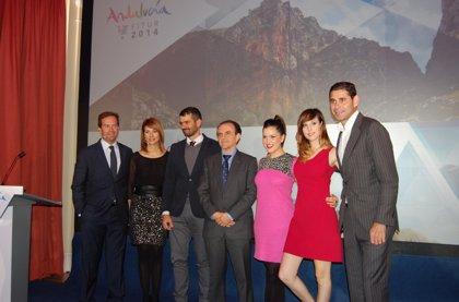 Andalucía exhibe el potencial del pabellón andaluz, que busca abrir vías de negocio y atraer al viajero