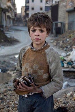 Imagen de la serie sobre Siria, ganadora del Premio Luis Valtueña