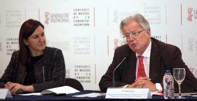 MARIA JOSÉ CATALA Y FELIPE GARÍN PRESENTAN PROGRAMACIÓN DEL CONSORCIO DE MUSEOS