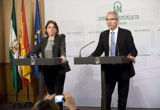 Elena Cortés y Miguel Ángel Vázquez, este martes