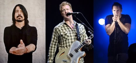 Dave Grohl, Trent Reznor, Queens of the Stone Age