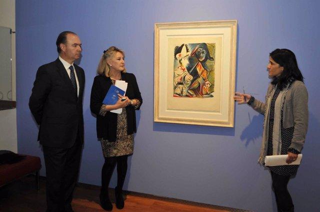 Presentación de 'Picasso ceramista y grabador, la Suite Vollard'