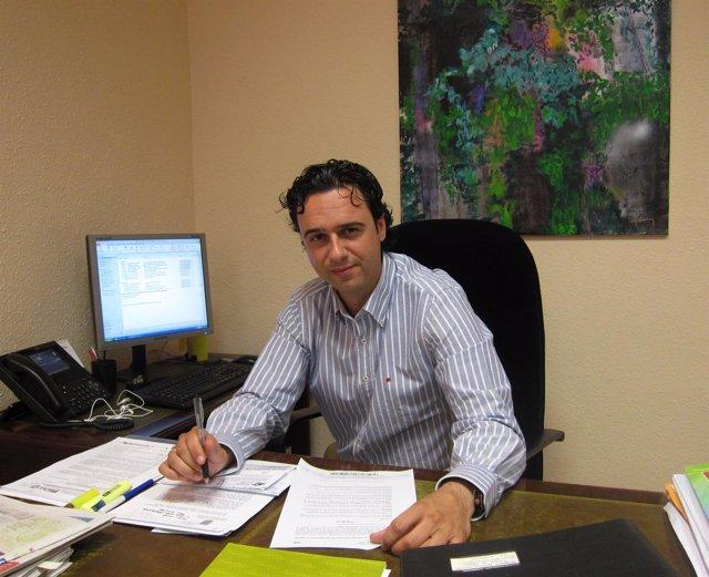 El concejal de Medio Ambiente del Ayuntamiento de Málaga, Raúl Jiménez
