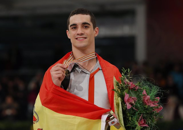 Javier Fernández, campeón de Europa