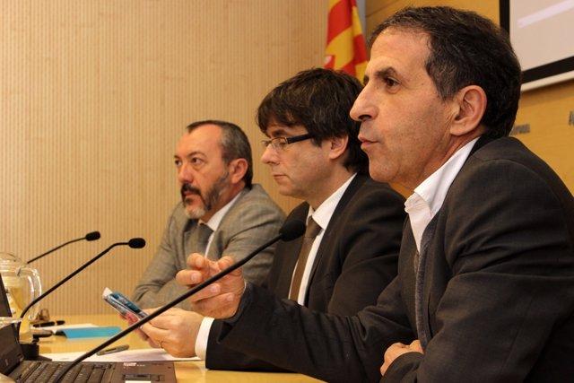 Presentación de la guía 'Girona, ciutat de festivals'