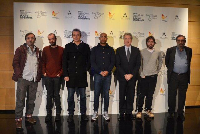 Presentación del acuerdo entre Gas Natural-Fenosa y la Academia de Cine