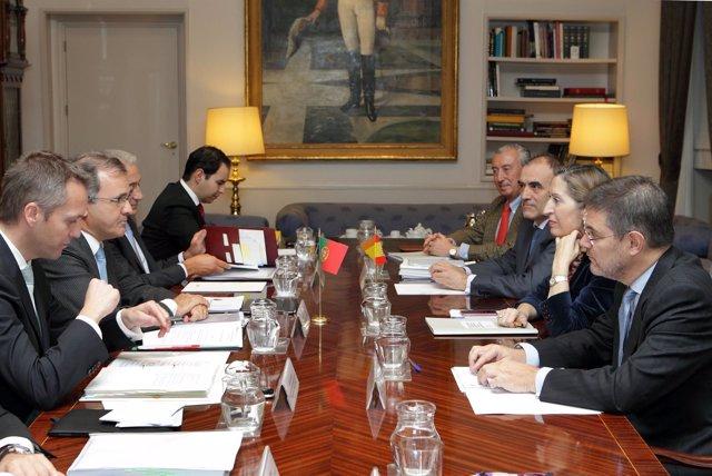 Reunión Pastor ministro de Economía de Portugal
