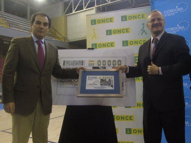 Presentación del cupón de la ONCE dedicado a Córdoba