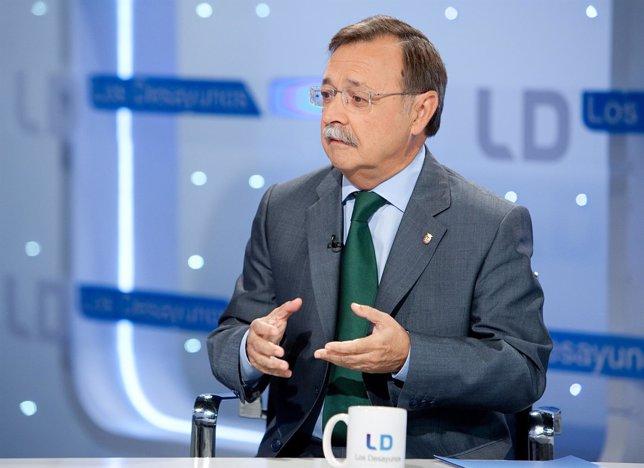 Juán Jesús Vivas, presidente de Ceuta