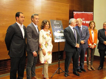 La Federación Internacional de Tenis premia la eliminatoria España-Ucrania de la Copa Davis disputada en la Caja Mágica