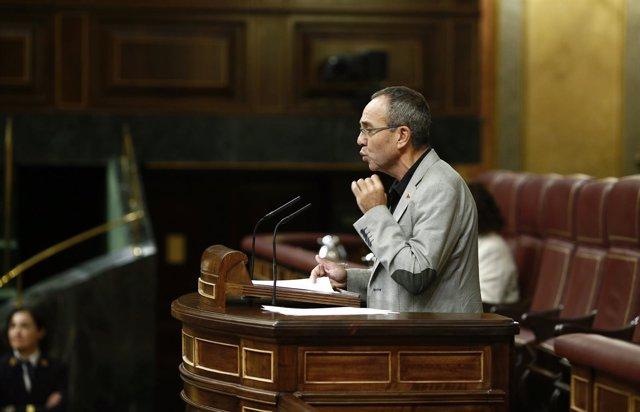 Coscubiela (ICV) en el Pleno del Congreso