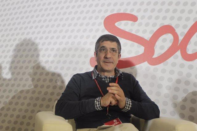 Patxi López en la Conferencia Política del PSOE