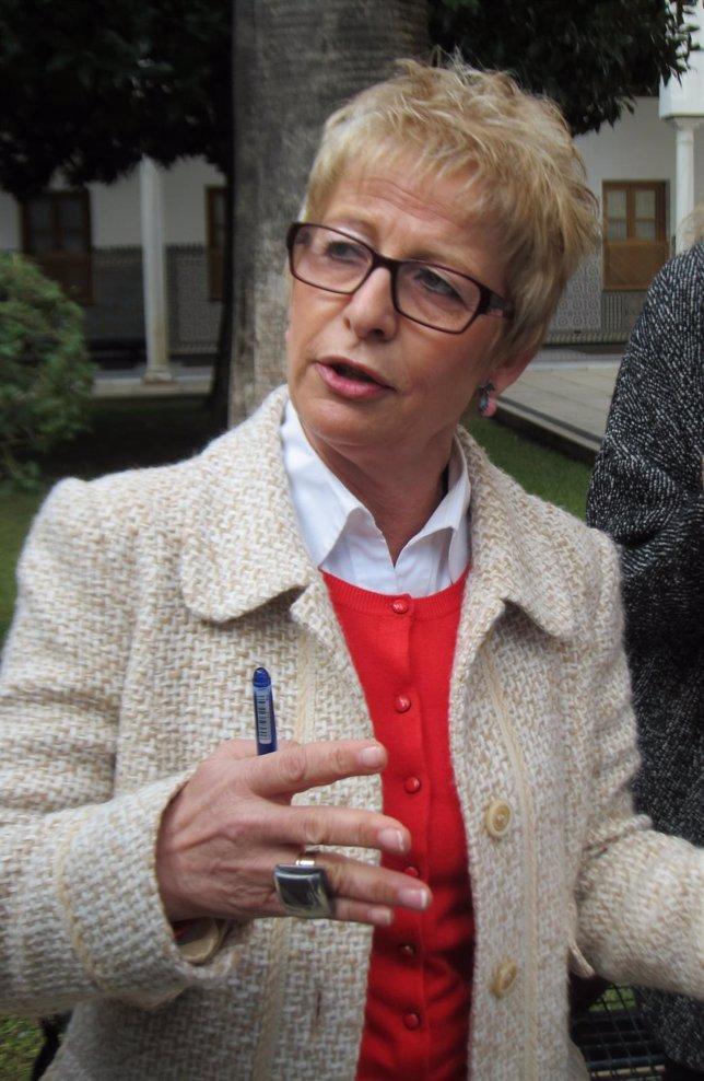 Elena Víboras, hoy ante los medios