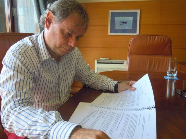 El presidente del Consorcio Bilbao-Bizkaia, Luis Barreiro
