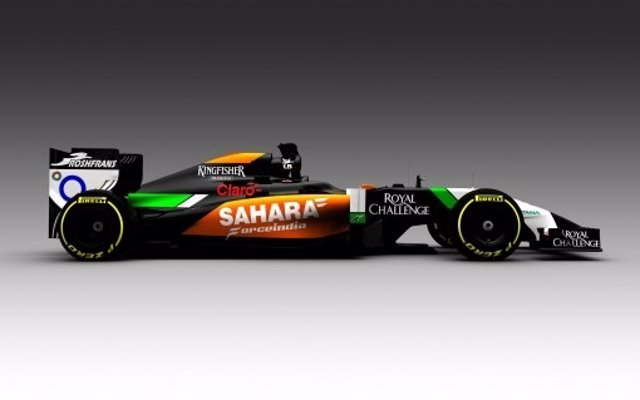 Monoplaza de Force India 2014 VJM07