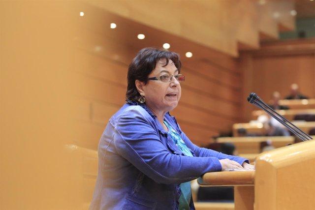 Olaia Fernández (BNG) en el debate sobre Bárcenas