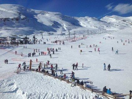 Alto Campoo abre el 70% de las pistas y ofrece 15,3 kilómetros esquiables