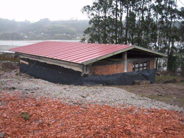 Casa ilegal en Villaviciosa.