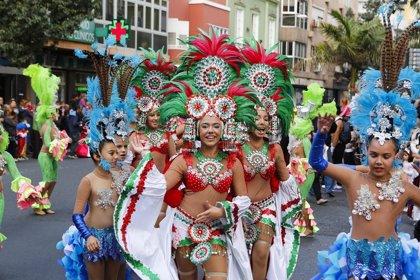 Un total de 16 carrozas participarán en la cabalgata infantil del Carnaval de Las Palmas de Gran Canaria