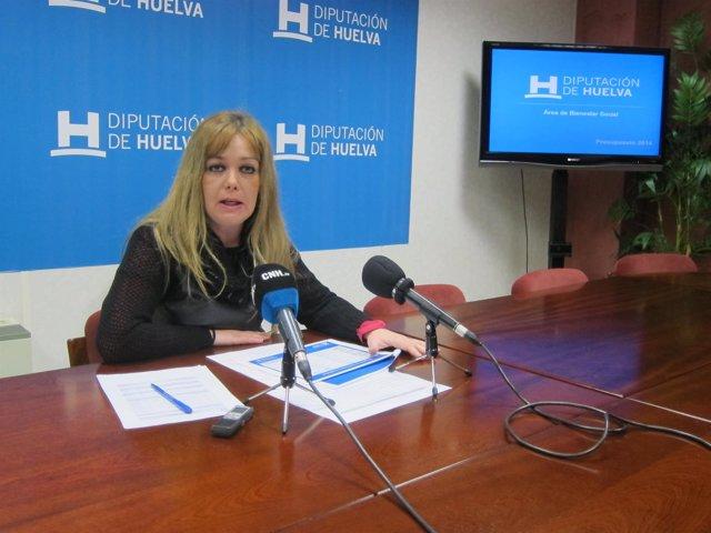 La diputada de Bienestar Social, Rocío Cárdenas.